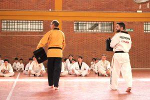 Entrenamiento Club Taekwondo Quevedo León