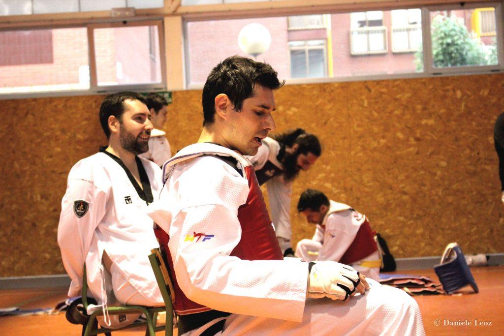 Entrenador Club Taekwondo Quevedo León